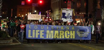 Participate in the Lake Charles Life March!