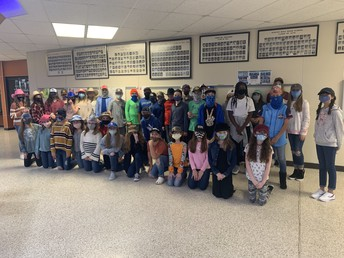 6th grade ~ Hat Day