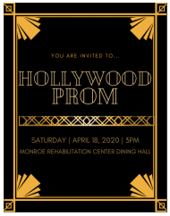 Student Service Learning Project, Senior Prom