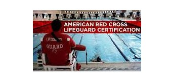 AMERICAN RED CROSS LIFEGUARDING CLASSES OFFERED HERE!