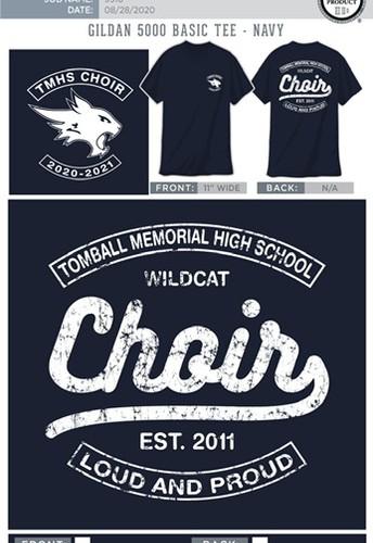Choir T-Shirt Order