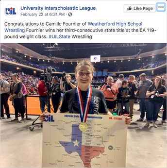 Congratulations, Camille!