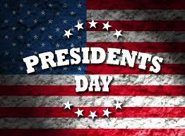February 15 No School-Presidents Day