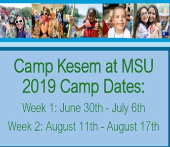 CAMP KESEM AT MSU