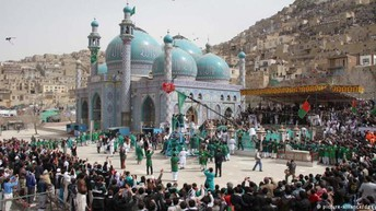 Nowruz festivities in Kabul, Afghanistan.