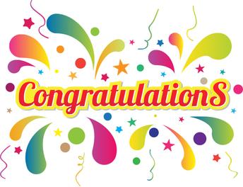 Student Congrats!!!