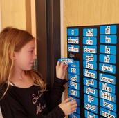 Magnetic Sight Word Board
