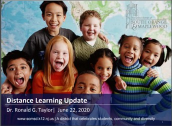 Distance Learning Journey Update/Survey Results:
