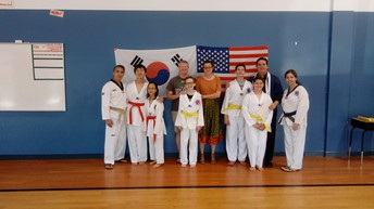 2nd Belt Ceremony