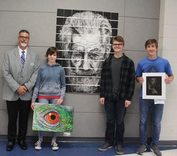 HHS Art Show Winners