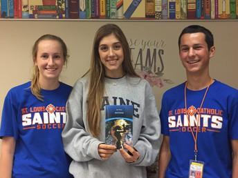 Jester, Stine, Hebert Make Semifinals in Nationwide Essay Contest