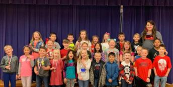 2nd Grade competitors