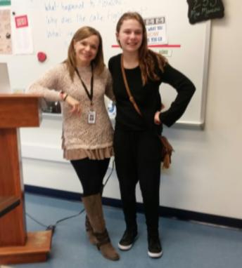 March's Featured Teacher