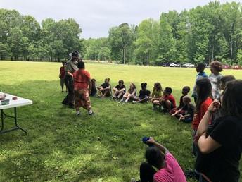 Pinnacle Mtn. - 3rd grade field trip