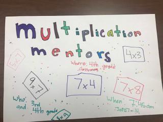 Multiplication Mentors