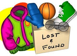 IT IS TIME TO CLAIM YOUR CHILD'S LOST ITEMS!!