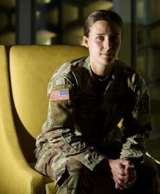 SHS Grad Lindsay Pritchard ('15) Named Top ROTC Cadet in US