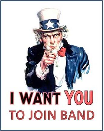 Help us Grow the Band!