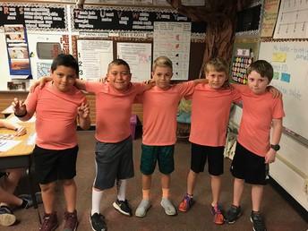 Boys' relay team