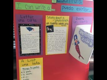 Bilingual Writing Station