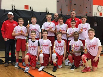 6th Grade Boys' Basketball Team Wins Mishicot Tournament