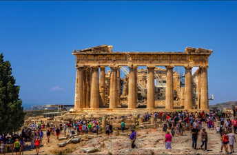 The Parthenon as it appears now.