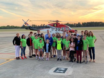YES CLUB VISITS ERA HELICOPTERS!