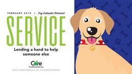 Character Trait of the Month:  Service