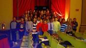 7th Graders attend A Christmas Carol at Wayne State