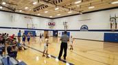 5th grade basketball action