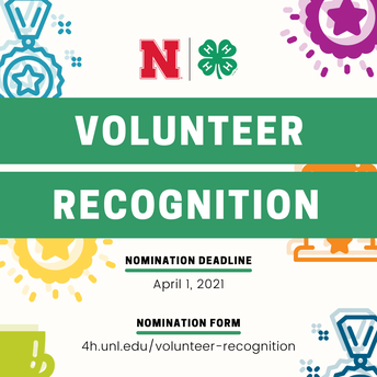 4-H Volunteer Recognition