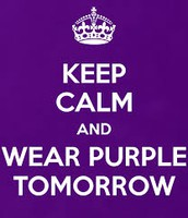 Wear Purple for Turner Syndrome Awareness on Monday!