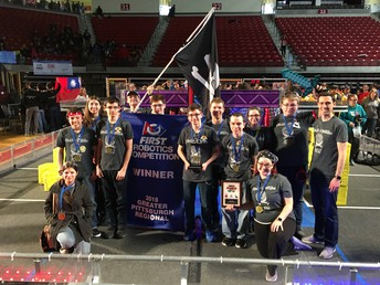 Pirate Robotics Wins Regional Competition