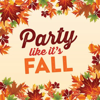 Fall Parties--October 31st!