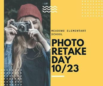Picture Retakes on 10/23