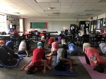 Yoga with Bence