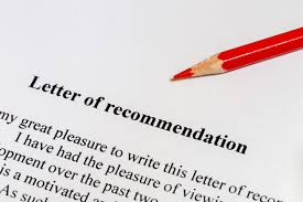 SENIORS  REQUESTING LETTERS OF RECOMMENDATION