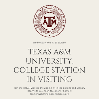 Texas A&M, College Station Virtual Visit