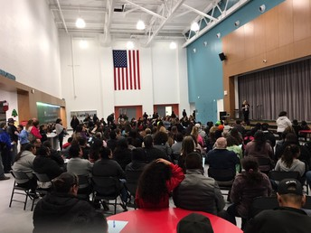Packed By Families & Friends Attending Concert