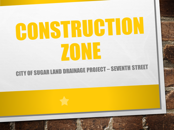 Construction Around Campus / Seventh Street