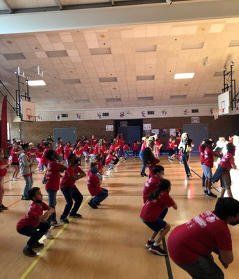 Boosterthon Dancing Duel was so much fun!