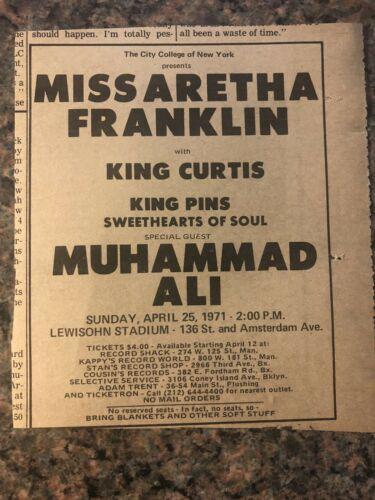 New York April 25th 1971