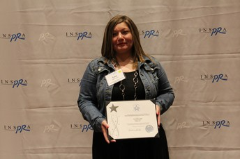 Lisa Melendez Recognized with INSPRA's Distinguished Service Award