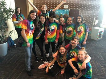 Congrats!  Odyssey of the Mind Teams