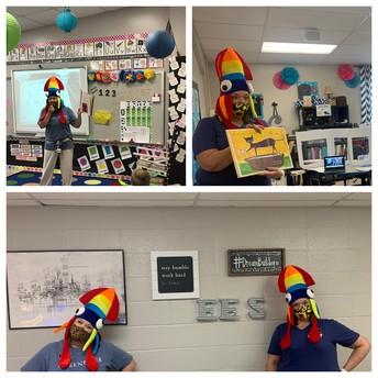 Kindergarten color week!