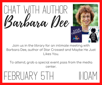 Chat with Author Barbara Dee