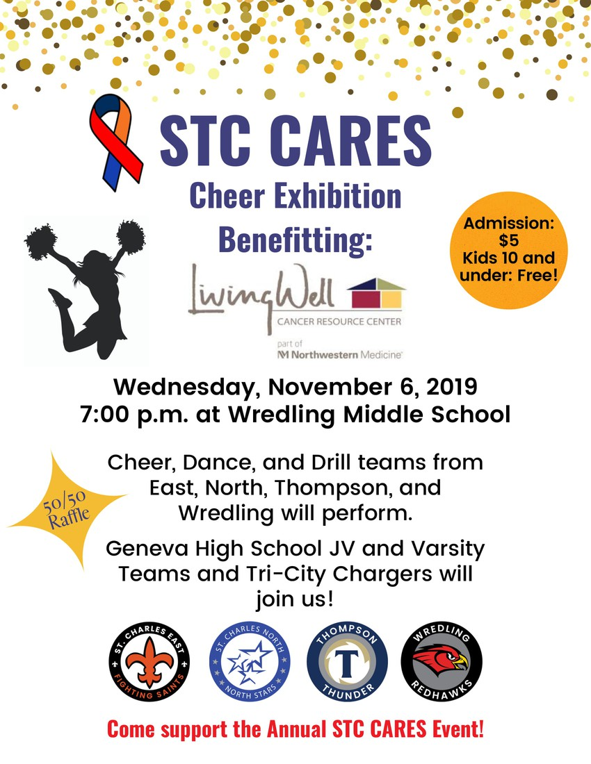 STC Cares Cheer Exhibition