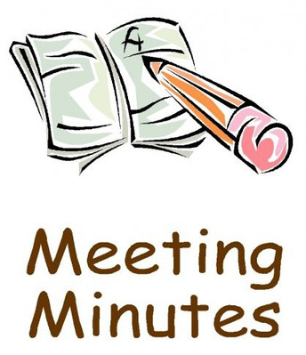 Minutes From Spring Meeting