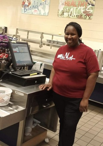Supervisor of the Month: Ms. Latonya Williams at Hampton Cove Elem./Middle School