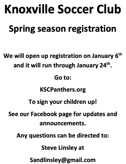 KSC Registration